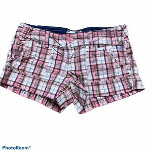 American Eagle Outfitters shorts Pink Plaid Size M